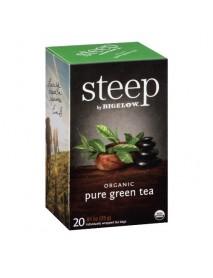 Bigelow Steep Organic Pure Green Tea  (6x20 BAG )