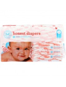 The Honest Company Diapers Giraffes Size 1  (1x44 Ct)