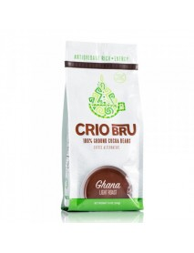 Crio Bru 100% Ground Cocoa Beans Ghana Light Roast (6x10 OZ)