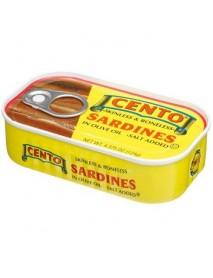 Cento Skinless & Boneless Sardines (25x4.38 OZ)