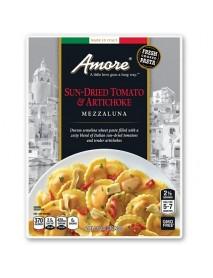 Amore Sun Dried Tomato And Artichoke Mezzaluna (6x8.8 OZ)