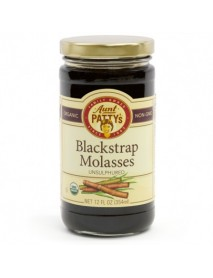 Aunt Patty's Unsulphured Sweet Barbados Molasses (6x12 OZ)