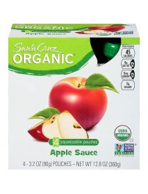 Santa Cruz Organic  Applesauce Original (6X4 Ct)
