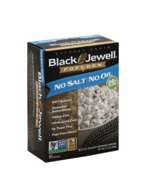 Black Jewell Microwave Popcorn No Salt No Oil (6x8.7 OZ)