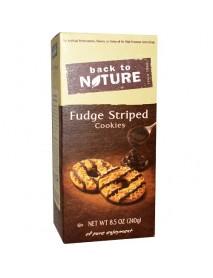 Back To Nature Cookies Fudge Striped (6x8.5 OZ)