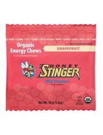 Honey Stinger Organic Energy Chews Grapefruit (12x1.8 OZ)