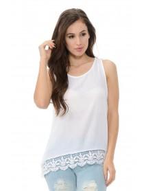 Diamante Women's Blouse - Style EA7118 - Size:Large