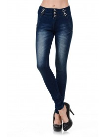 Frenzy Women's Jeans - Push Up - Style 001 - Size:0
