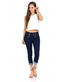 M.Michel Women's Capri Pants Butt Lift, Levanta Cola, Push Up - Style N2723 - Size:11