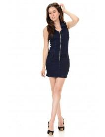 M.Michel Women's Denim Dress - Style A5169 - Size:11