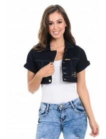 M.Michel Women's Denim Jacket - Style 251 - Size:Large