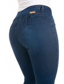 M.Michel Women's Jeans Colombian Design, Butt Lift, Levanta Cola, Push Up - Skinny - Style Q1021 - Size:15