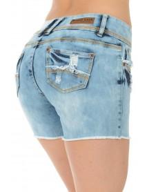 Sweet Look Women's Bermudas - Style S6187-R - Size:0