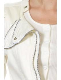 Sweet Look Women's Denim Jacket - Style N559 - Size:Large