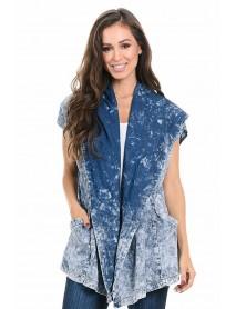 Sweet Look Women's Denim Jacket - Style K776 - Size:Large