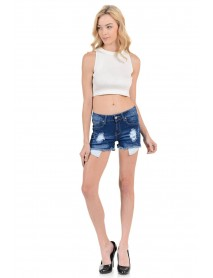 Sweet Look Women's Shorts - Style 14748A-R - Size:0