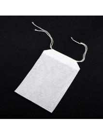 50 Pcs/Lot Teabags 5.5 x 6.5CM Empty Scented Tea Bags With String Heal Seal Filter Paper