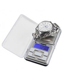 500g x 0.1g Portable Digital Electronic Jewelry Gram Weight Scale Balance