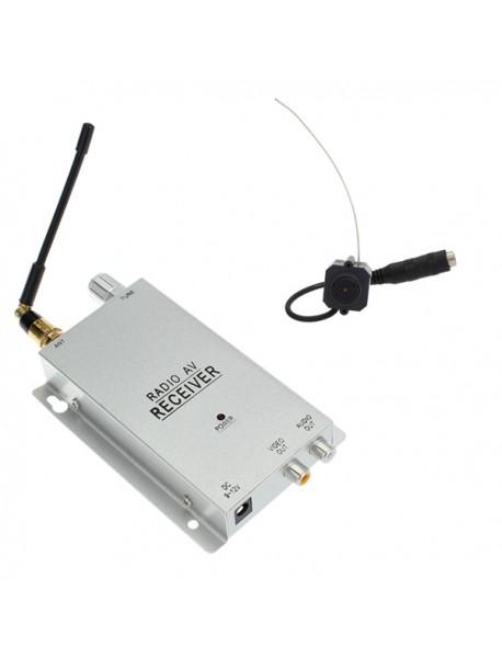 1.2G Wireless Color CMOS CCTV Security Surveillance Camera Kit