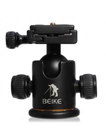 BK-03 Tripod Ball Head Ballhead + Quick Release Plate Camera Tripod