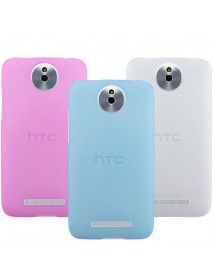 Snow Jade Clear Anti-finger Matte Protective Case For HTC-E1 603e