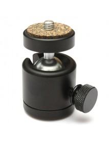 360 Swivel Mini Ball Head 1/4 Inch Mount For DSLR Tripod Ballhead