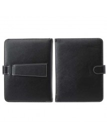 8 Inch French Keyboard PU Leather Case Cover With Stand For Tablet