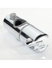 ABS Chrome Shower Rail Head Slider Holder Adjustable Bracket