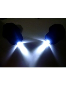 5 LED Lighted Baseball With Batteries Double Vision Caps