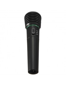 2in1 Wired&Wireless Handheld Microphone Receiver Studio System