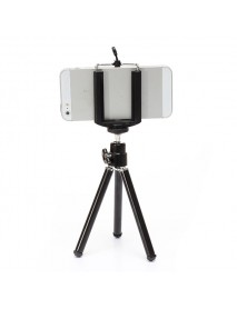 360 Rotatable Cell phone Tripod Stand Holder for Samsung Smartphone
