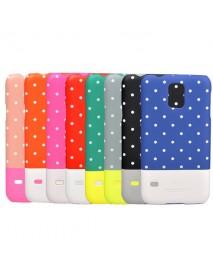 Kajsa Polka Dots Pattern Noctilucent Hard Case For Samsung S5 I9600