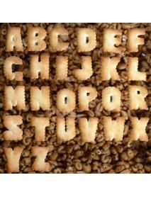 37 Pcs Alphabet Letter Number Cake Cookie Decorating Cutter Mold Set