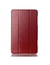 Crazy Horse Tri-fold PU Leather Case Cover For Samsung Tab 8.4 T700