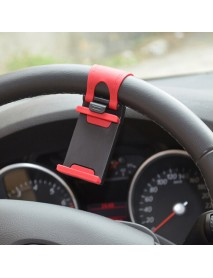 Car Steel Ring Wheel Mount Holder Rubber Band For Mobile Phone GPS