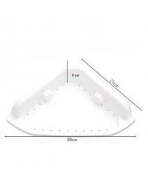 Suction Cup Multi-functions Corner Drain Shelf Bathroom Organizer Rack Cream Holder Storage