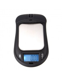 200g x 0.01g Mini Portable Digital Electronic Mouse Jewelry Pocket Scale