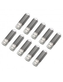 10 x 128MB USB 2.0 Flash Drive Candy Black Memory Storage Thumb U Disk