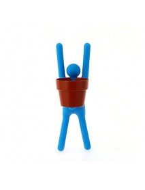 Interest Mini DIY Changed Iron Man Potted Plants Office Home Plant