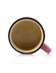 Ceramics DIY Mini Coffee Cup Potted Plant Office Desktop Plant Decor