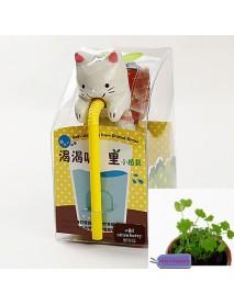 Mini Auto Water Absorption Animal Potted Plants Office Desktop Plant