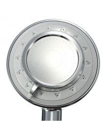 Bathroom Silver Handheld Water Saving Pressure Shower Head