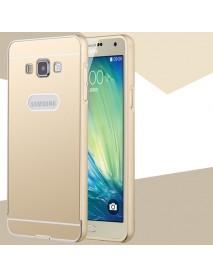 Metal Bumper Frame+PC Detachable Back Case For Samsung A7 A7000