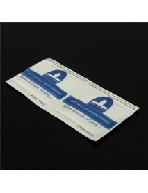 100 Pcs Environmental Nail Art UV Gel Polish Remover Cleaner Wraps Pads
