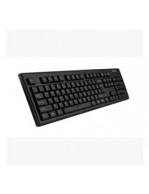 A4TECH WK-100 USB Wire Waterproof Fillet Keycap Keyboard