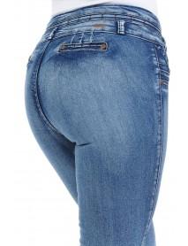Studio Omega Women's Jeans - Push Up - Style K038 - Size:11