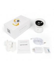 Bqcker BK-EQ1 360PTZ Wireless IP Camera PIR Sensor Alarm M-otion Detection Baby Monitor Two Way Audio  Monitor Night Vision CCTV WiFi Mornitor Cloud Baby Monitors