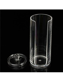 Acrylic Clear Make Up Cotton Pad Organizer Cosmetic Display Storage Makeup Case Holder