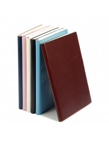 1pcs Soft Cover PU Leather Notebook Writing Journal 100 Page Diary Book For Office School Use