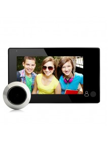 4.3 inch TFT LCD Screen 150 Degree Home Security Doorbell Digital Photo Peephole Door Eye Viewer